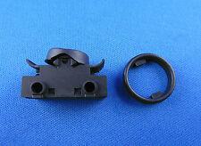 Einbau Wippenschalter  für Lampe Wippschalter 6A 250V~ Schwarz Ersatz Schalter