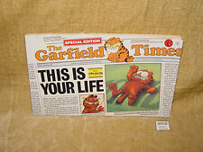 GARFIELD - THIS IS YOUR LIFE BY JIM DAVIS PB BOOK 1988 RETRO 80s XMAS GIFT IDEA