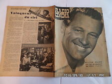 RADIO CINEMA TELEVISION N°352 14/10/1956 WILLIAM HOLDEN FILM PICNIC   G86