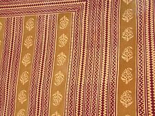 Vtg Batik Cotton Gauze Made in India Bedspread Full Wall Covering Hanging 80x54