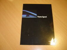 CATALOGUE Pontiac Trans Sport de 1995