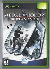 Microsoft xbox Medal of Honor: European Assault Game Rare
