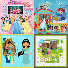 Disney Princess Digital Photo Book Templates Photoshop Album Frames Background 1