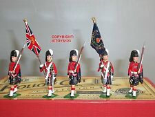Britains 40189 Cameron HIGHLANDERS colore PARTY + ESCORT giocattolo soldato Figure Set
