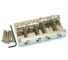 Genuine Fender Squier Nickel Classic Vibe 60s Jazz Bass Bridge 007-4943-000