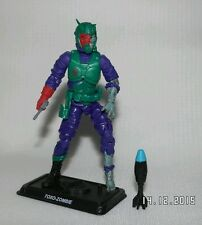 Acción force/gi Joe Cobra la toxoplasmosis Zombie Viper Completa VGC Joe Con Exclusivas Raras