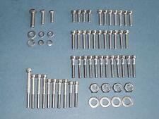 YAMAHA XT 500 SR 500 VA Motorschrauben Satz Edelstahl A2 engine bolts set