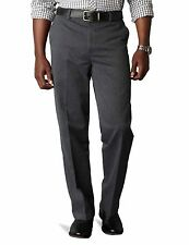 Dockers NEW Charcoal Gray Mens Size 32X29 Dress - Flat Front Pants $58 #271