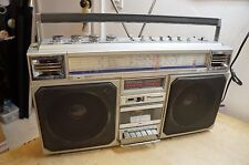 SILVER CROWN SC-0202 Ghetto Blaster Boombox