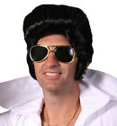 Elvis Rock N Roll Costume Wig 60's Male Fancy Dress