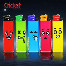 5pcs expression face print design no work Cricket lighters just for collect,CR20