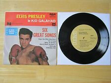 Elvis 45rpm EP Record & Picture Sleeve, Kid Galahad, RCA # 20274, Australia