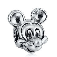 JS347 Mikey Mouse charms bead Fit European Bracelet/Necklace Chain