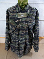 size M US ARMY TIGER STRIPE VIETNAM Feldjacke 1st Cavalry Field Jacket Jungle