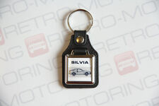 Nissan Silvia S12 Keyring - Leatherette Japanese Retro Classic Coupe Car Keyfob