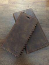Custodia Cellulare in Vera Pelle Book Case VT per Samsung g920f Galaxy s6
