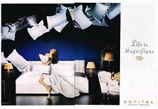 Publicité Advertising 2008 (2 pages) Les Hotels Sofitel