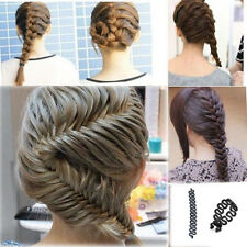 Women French Hair Braiding Tool Roller With Magic hair Twist Styling Bun Make
