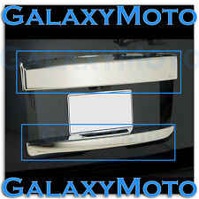 07-14 GMC Yukon+XL Chrome Upper+Lower Hatch Trunk Liftgate Tailgate Handle Cover