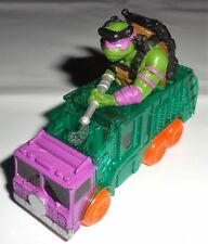 2 Piece Lot TMNT Ninja Turtles Playmates Collector 1:64 Cars Free U.S. Shipping