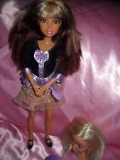 SPIN MASTER LIV DOLL Articulated Clothed Streaked Hair 2009 Styling Head