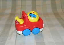Fisher Price 1995 Roll-A-Rounds People Fire Truck