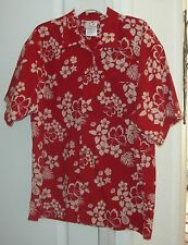 Disney Store Hawaiian Camp Shirt size M Mickey Mouse