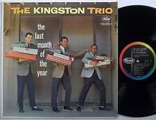 THE KINGSTON TRIO The Last Month Of The Year CAPITOL LP christmas xmas