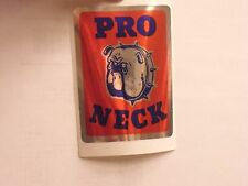 Old school National Pro Pro neck headbadge bmx bike frame sticker decal