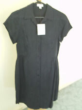 WITCHERY   DRESS  SHIRT  STYLE   NAVY   SZ 8   BNWT
