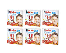 6x Boxes KINDER Rich Milk Filled Chocolate Sticks Super Party Treats 50g 1.76oz