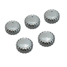 GOLDWING GL1500 Chrome Radio Knob 5PCS Kit, 1988-2000 HONDA
