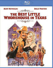THE BEST LITTLE WHOREHOUSE IN TEXAS~ NEW BLU RAY~  DOLLY PARTON~   BURT REYNOLDS