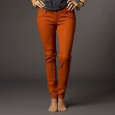 NWT FOX RACING Women's Burnt Orange RIPPER JEGGING Jean Leggings STRETCH ~ Sz 3