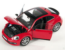 BLITZ VERSAND VW The New Beetle 2012 rot / red 1:24 Welly Modell Auto NEU OVP 32