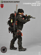 1/6 Action Figure Toy MSE ZERT Sniper Black Jack Grey MRAD Pouch 30