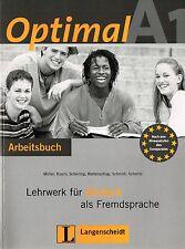 Langenscheidt OPTIMAL A1 Arbeitsbuch Lehrwerk fur Deutsch als Fremdsprache @NEW@