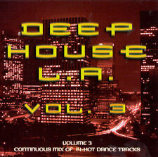 FREE US SHIP. on ANY 2 CDs! NEW CD Various Artists: Deep House La 3