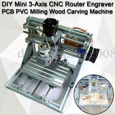 DIY CNC 3 Axe Gravure Machine Fraisage Graveur Bois PCB PVC Board Graver Router