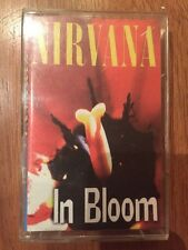 NIRVANA - In Bloom 1994 Kurt Cobain Cassette Tape VERY RARE Live Russian Edition