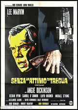 SENZA UN ATTIMO DI TREGUA MANIFESTO CINEMA LEE MARVIN POINT BLANK MOVIE POSTER