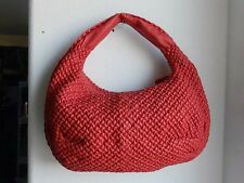 9086 Medium Red Bottega Veneta Belly Veneta Bag