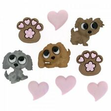 Dress It Up Buttons Jesse James Puppy Love #7823 Flat Rate Shipping