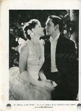 FREDRIC MARCH MIRIAM  HOPKINS Dr. JEKYLL & Mr. HYDE 1931 LOBBY CARD ORIGINAL #2