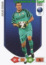 JULIO CESAR BRAZIL INTER CARD CALCIATORI ADRENALYN PANINI 2011