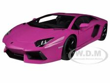 LAMBORGHINI AVENTADOR LP700-4 PINK 1/18 DIECAST CAR MODEL BY AUTOART 74660