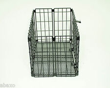 FOLDING BIKE BICYCLE WIRE BASKET FOR REAR RACK/CARRIER