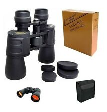 SAKURA 10-70 x70 50x50 10x90 20x50 Day & Dim Night Sport Binoculars Birdwatching