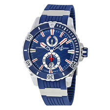 Ulysse Nardin Maxi Marine Diver Blue Dial Automatic Mens Watch 263-10-3-93