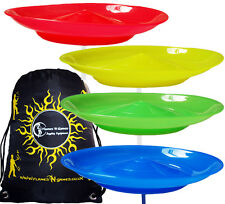 Spinning Plates Set of 4 + Travel BAG / Kid Safe Spinning Plate Set - Juggling